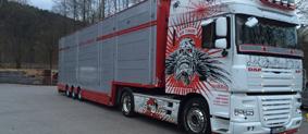 Internationale Tiertransporte