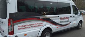 Kleinbus Weißflog Transportunternehmen